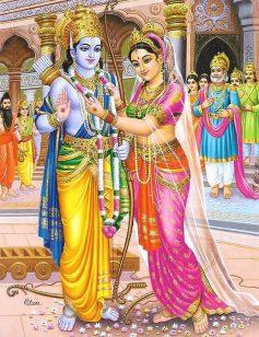 Hochzeit von Rama und SIta