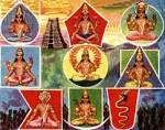 Die Götter der Planeten des Sonnensystems sind die Prominenz der vedischen Astronomie und Astrologie