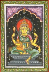 Indrani is the shakti of Indra -She is also known as Sachi or Aindiri