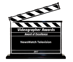 Excellence Clapboard 2017 - Videographer Award - NewsWatch TV