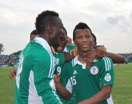 Super Eagles in Calabar