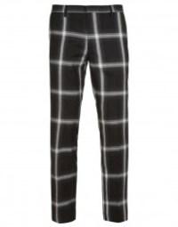 check trouser by topman
