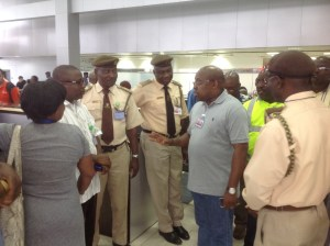 FAAN MD Inspecting the MMIA