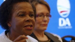Mamphela Ramphele and Helen Zille had said they represented South Africa's unity