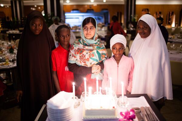 Malala in Nigeria, Birthday Cake