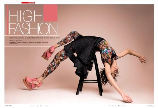 Y! Africa Fashion Editoral