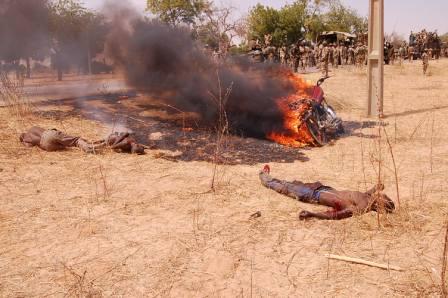 Scene of Nigerian Ground Troops that Recapture Baga  (6)