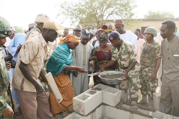 Chibok rebuilding