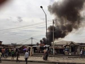 Oyingbo market fire