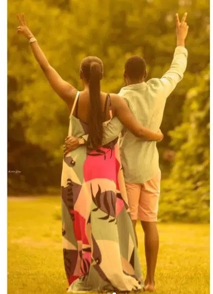 'I prayed and you came': Tobi Bakare gushes over fiance | NewsWireNGR