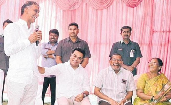 KTR-And-Harish-Rao