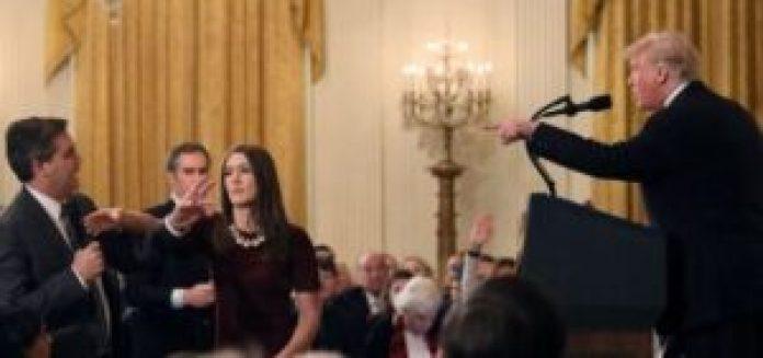 White House Suspends CNN Reporter Jim Acosta Press Pass