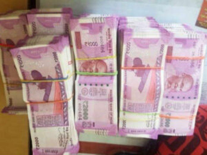 governorpet ci pawan kumar caught taking bribe in Vijayawada