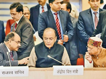 arun jaitly comments on gst exception