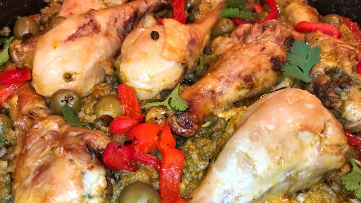 Extra Spicy, Extra Crispy Puerto Rican Chicken