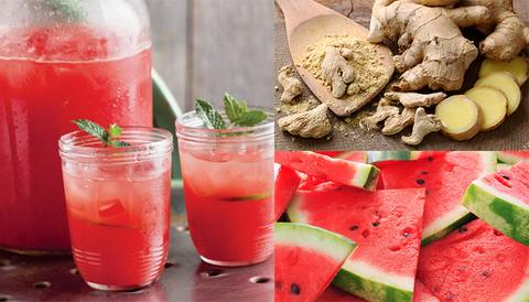 Blend Watermelon And Ginger, Take One Cup Daily To Get These Benefits.