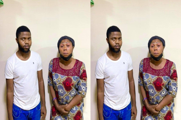 Mother And Son Arrested By EFCC For Alleged N50M Internet Fraud In Lagos
