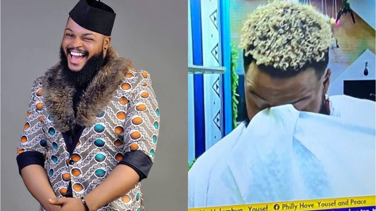 BBNaija 2021: Whitemoney Breaks Down In Tears As He Thank God For Escaping Eviction – Video