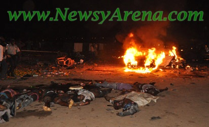 Kano suicide Car Bomb Aattack