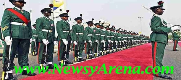 Nigerian Army 2014 e-Recruitment Form for SSC and DSSC
