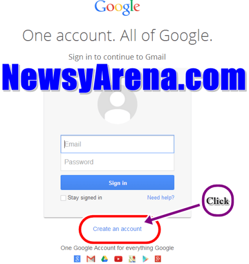 Gmail Registration