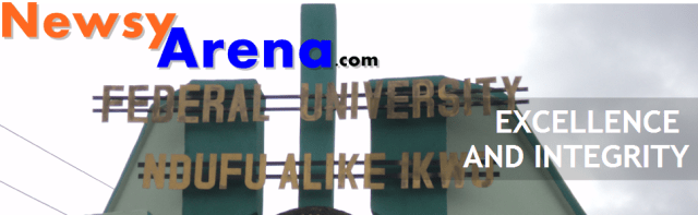 Job Vacancies at Federal University, Ndufu-Alike, Ikwo