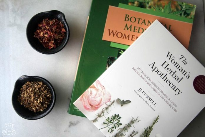herb books womens health