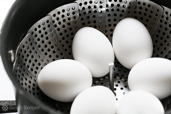 How to Steam Hard Boiled Eggs
