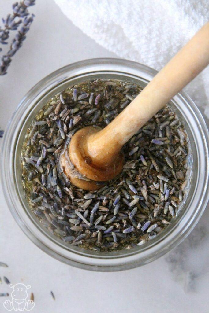 how to make lavender honey