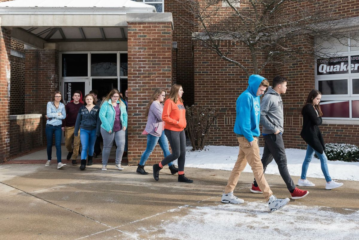 NP Students Participate in National Walk Out for Gun Law Reform