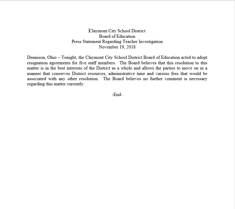 Claymont Press Release.png