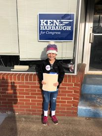 Lucy Canvassing