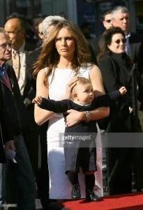 Melania Trump and Barron Trump