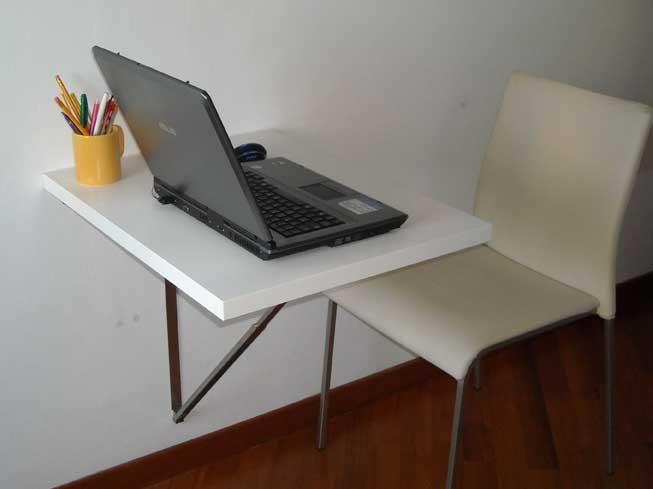 Ancora pi compatto il tavolo che scompare al muro
