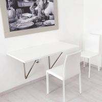 Wall Mounted Folding Table - Space Saving Solutions   NTC