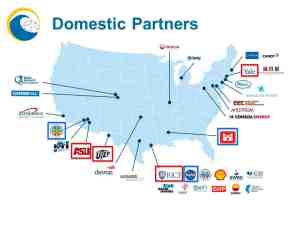Domestic Partners map