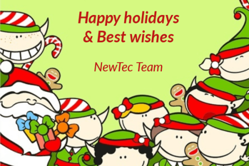 NewTec Happy holidays Christmas 2016