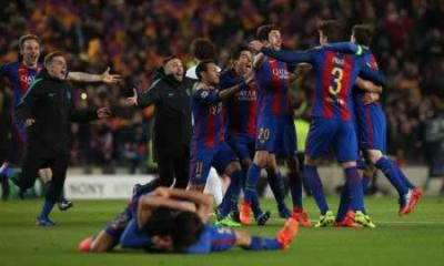 UEFA League: Barca eye yet another famous comeback
