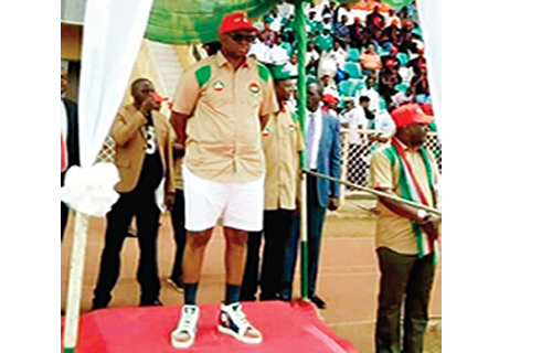 This Fayose is going places