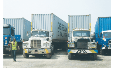 Deplorable port road hinders container transfer