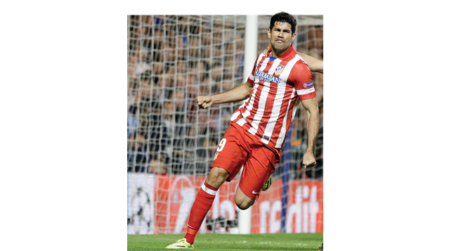 Diego Costa dismissed on his return to LaLiga action with Atletico Madrid