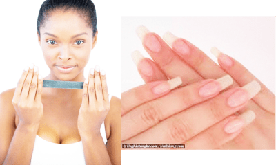 DIY nail growth polish