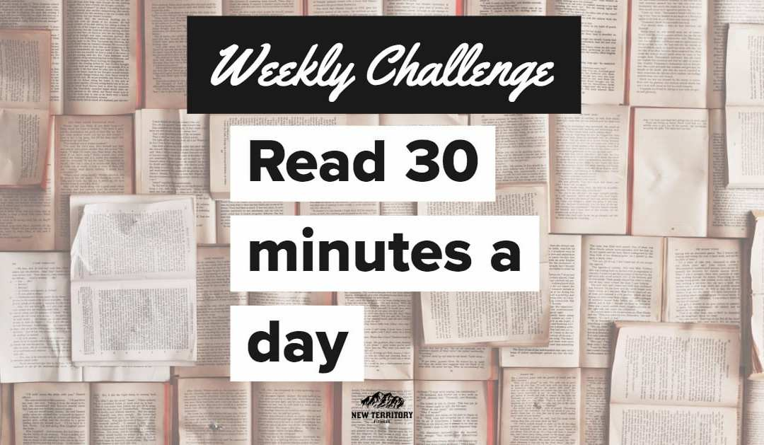 Bury Your Head in a Book – Weekly Challenge 009