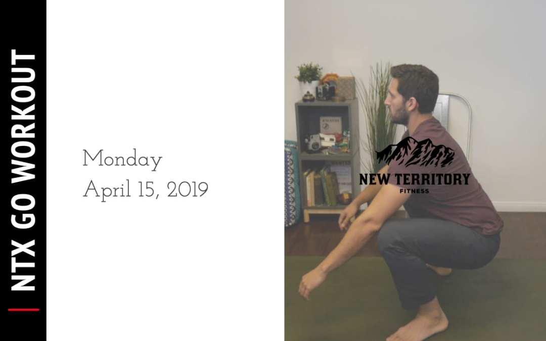 NTX Go // Monday 04-15