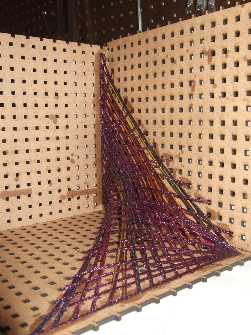 Ruled Surfaces  String Sculptures  New Textiles 2012