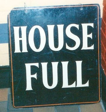 Image result for house full sign