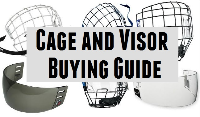 hockey cages and visor
