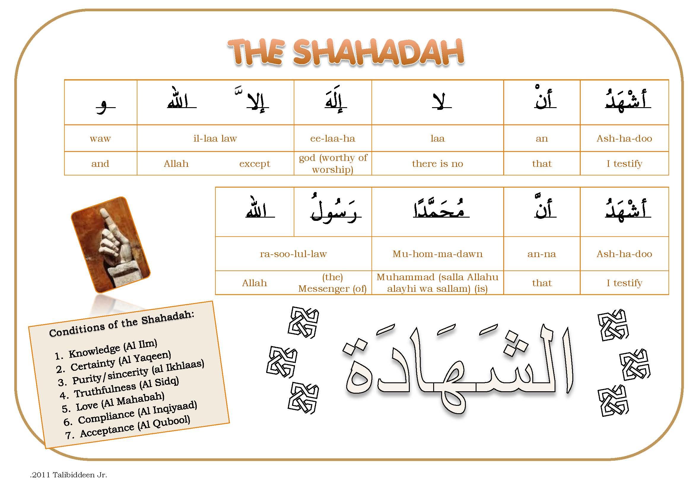 Shahaadah