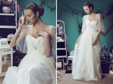 Maria Pushkova /2013 Wonderland Wedding Collection for Sofoly.