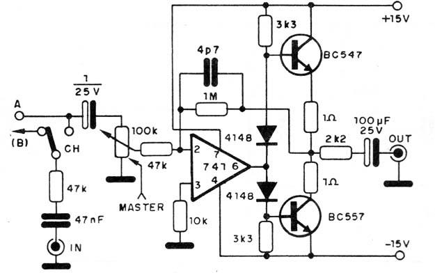 Amplificador 741 (CIR10540 )